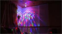 E27 RGB colorful rotatable decoration colorful bubble ball bulb led light led lamp,vivid  colour your room,free shipping