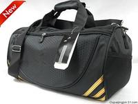 Free Shipping New large-capacity M spike canvas bag Messenger bag handbag shoulder bag barrel bag fitness