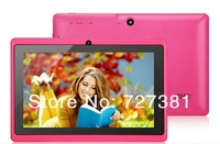Free Shipping NEW 7 Inch Android 4GB  8GB Dual Camera Capacitive Touch WIFI Q88 A13 OEM Tablet PC Bulk Purchase DHL