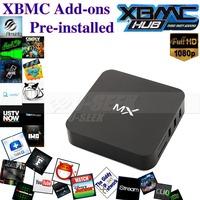 Free Shipping!! Android 4.2 Amlogic MX2 Dual Core 1GB/8GB  heng TV Box Hong Kong Fully Load XBMC Media Player