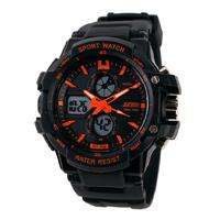 Fashion Children Watches 2 Time Zone Digital Quartz Multifunction Waterproof Running Casual Sports Watch Kids Wristwatches