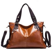 Hot Sale New 2014 Fashion Desigual Brand Women Handbag Burnished genuine Leather women leather handbags brand famous