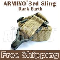 Armiyo 3rd Generation Outdoor Military Hunting Binoculars Strap Multi Mission Sling System Dark Earth For Training Sports