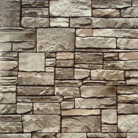 Online kopen wholesale grijze stenen muur uit china grijze stenen muur groothandel - Vinyl imitatie tegel ...