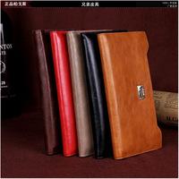 New arrival Brand women's wallets Oil wax leather wallet long purse Korean candy color zipper wallet  free shipping
