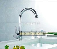 Polished Chrome Torneira Cozinha Brass Swivel Kitchen Faucet 360 degree rotating Kitchen Mixer Tap se217