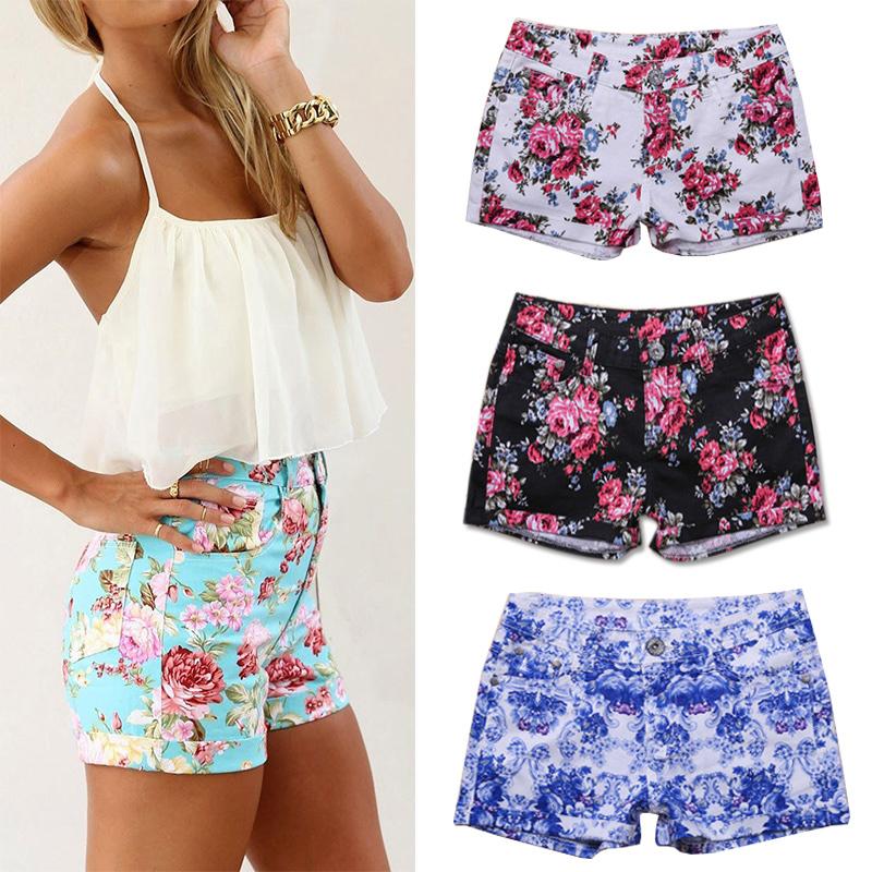 Womens shorts  Jersey leather amp denim shorts  ASOS