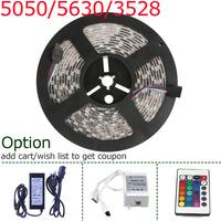 Flexible 5M 12v SMD 300 leds Strips 3528/5050/5630 Waterproof Striscia Stripe White LED Strip RGBW Ribbon Rope Light Fita de LED
