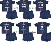 IBRAHIMOVIC KIDS 14 15 CHILDREN LAVEZZI PASTORE T.SILVA CAVANI youth soccer jerseys,2015 DAVID LUIZ kids,can custom