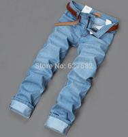 New 2014 Wholesale Fashion High Quality Nostalgic Cotton Brand Famous True For Mens Original Warm Spring Autumn Jeans 28-40