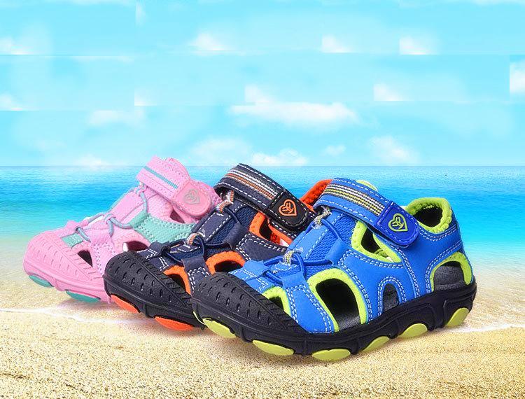 AliExpress.com Product - Children Sport Sandals 2015 Summer kids sandals Boys Girls Beach Shoes Children Sneakers Shoes Boys Leather Sandals