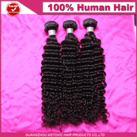 Malaysian virgin hair deep wave hair weave bundles 3pcs lot unprocessed virgin remy 100% human hair