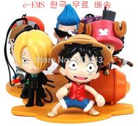 Mcdonald 's 2014 Mcdonald super toy Japanese anime onepiece figure pvc one piece anime action figure 9pcs & 10pcs/ full set toys
