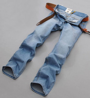 Mans Spring 2014 New Famous Brand Jeans Fashion Factory Cotton True Sports 100 Original Skinny Masculina Jogging Pants 28-40