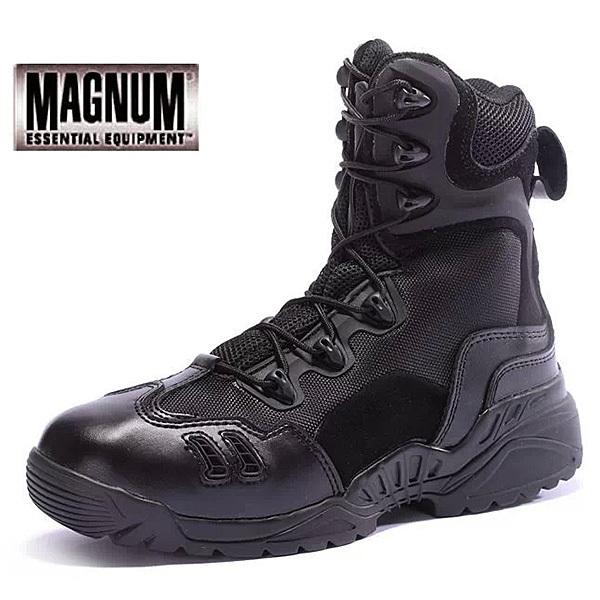 Yeni 2 014 ordu çizmeler magnum marka erkek ayakkabı fermuarlı