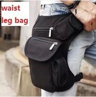 Men outdoor Canvas drop waist leg bags waist pack bag Men running belt bicycle and motorcycle Money Belt  Fanny pack