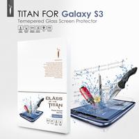 Premium Tempered Glass Screen Protector for Samsung Galaxy S3 i9300 Protective Film GODOSMITH TITAN Original