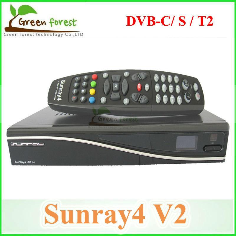 Sunray SR4 V2 Wifi SR4 V2 Triple Tuner Sunray4 800se V2 3 in 1 Tuner(dvb-c,dvb-s ,dvb-T/T2 ) Sim 2.20 DVB receiver(China (Mainland))