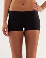 Queen yoga supplex womens classical black  elastic fitness wear  yoga shorts