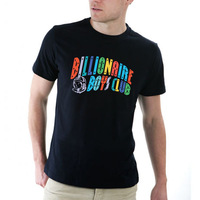 Free shipping 2014 New Arrival BBC icecream Billionaire Boys Club t-shirts Mens short sleeve shirts tees colorful letter style