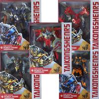 NEW Movie 4 Age of Extinction Leader Optimus Prime Bumblebee Grimlock Drift Crosshairs robots transformation action figures