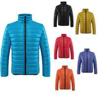 8 Colors Men Winter Coats 2014 Men's Cotton-Padded Jacket Fashion Designer Male Overcoat Slim Casual Outwear Coat Jackets ZX106