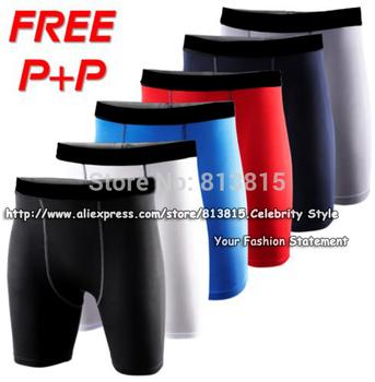 P74 Mens Compression Gear Base Layer Sport Gym Шорты Basketball Running Training ...