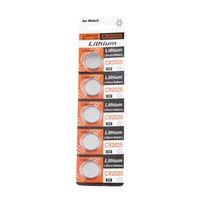 5pcs 2025 3 Volt Button CR2025 CR 2025 DL2025 USA 3V SCA-1682 BR Cell Battery Newest
