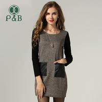XL XXL XXXL 4XL 5XL Long Sleeve Women Autumn Winter Dress Plus Size
