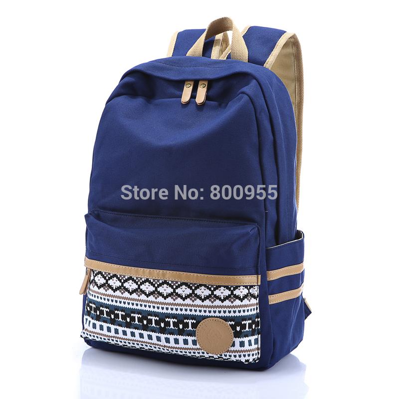 sac de toile sac a dos school canvas backpack mochila de lona fashion Rucksack portatif brand bags 15inch laptop backpack(China (Mainland))