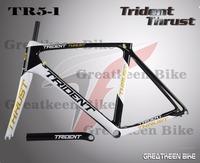 Carbon frame Trident Thrust greatkeen carbon fork road mtb bicycle frame700c carbon frame road frameset de rosa BH G6