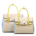 2014 models hot ladies handbag brand  fashion trends hit the color shoulder bag 30*26*14 NB113 Y8PA