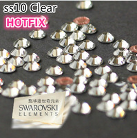 SS10 144pcs/Bag Clear Crystal HotFix Rhinestones FlatBack  , Swarovski Rhinestones for Clothing Bag Shoes Nail,Free Shipping