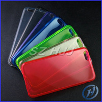 """Plain Matte TPU Case for Apple iPhone 6 Air iPhone6 4.7 4.7"""" Pudding Gel Silicon Back Clear Cover Free Shipping With Retail Bag"""