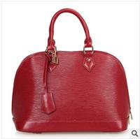 Guangzhou water ripples handbags handbags leather handbag shell bag summer  models with long shoulder   33*24*17CM NBC104 Y8PB