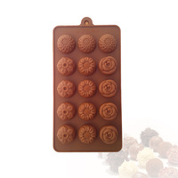 New Silicone Cake Mould 4 Different Flowers Chocolate Baking Mould Tools Bakeware Cupcake Kitchen Tools