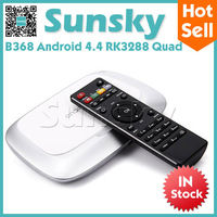 B368 RK3288 Quad Core Android 4.4 TV Box Smart TV Receiver 4K FHD 1080P HDMI Media Player IPTV Bluetooth Wifi New 2014