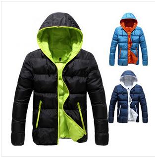 men's warm outdoor waterproof windproof winter downcotton jacket parka coat hoodies outerwear overcoat thick clothing 35(China (Mainland))