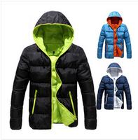 men's warm outdoor waterproof windproof winter downcotton  jacket parka coat hoodies outerwear overcoat thick clothing 35
