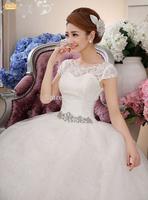 wedding dresses the new 2014 princess lace wedding dress ivory wedding gowns china free shipping robe de mariage princesse 340