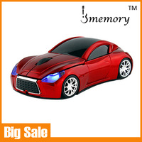 Retail Infiniti Wireless Mouse Fashion Super Car Shaped Gaming Mouse Laptop Computer Mouse as Promotional Gift Free Shipping