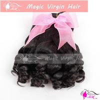Bouncy Funmi Hair Romance Curls Brazilian Virgin Human Hair Weave No Tangling No Shedding No Smell No Lice