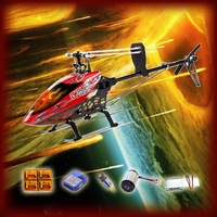 GT550 FBL TT RC Helicopter With Fire Fiber Glass Canopy Torque Tube Version Super Combo Fits Align Trex 500 Helicopter
