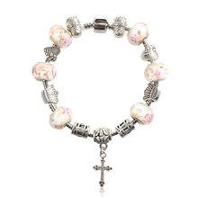 High Quality Handmade Murano Glass Crystal European Charm Beads Fits Pandora Style Bracelets Best Gift For