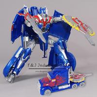 New 2015 Edition Transformation Robots Genuine 27cm Optimus Prime Megatron VOYAGER Model Action Figures Classic Toys Car For Boy
