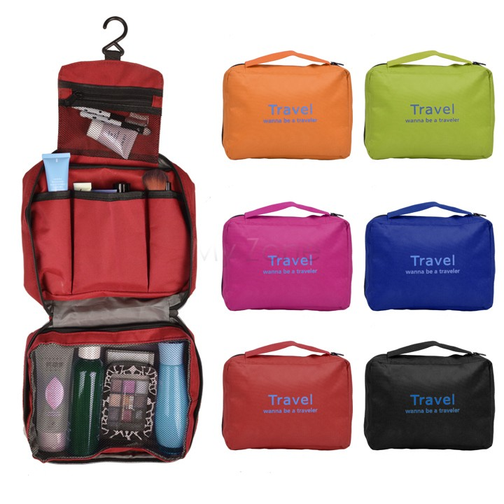 Discount Versatile Travel Toiletry Bag/Cosmetic Makeup Bag Storage/Waterproof Outdoor Hanging Wash Bag Organizer Bag 12(China (Mainland))