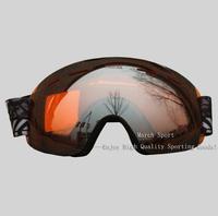 Fashion Men Women Rimless Goggles Eyewear Glasses Ski Snowboard Snowmobile Cycling Motorcycle Climbing Travel Yellow