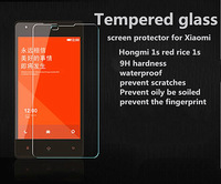 """1 pieces 2.5d 0.3mm Tempered glass screen protector for Xiaomi Hongmi 1s red rice 1s 4.7"""" IPS HD clear film ultra thin"""