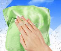 Hot Item!! Magic Window Windshield Cloth Kitchen Cleaning Towels Fish Scales Microfiber Polishing Shine Towels 30*40cm No Traces