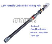 Top Quality Mini Portable Fishing Telescopic Rod Aluminum Alloy Fishing Fish Silver Pen Rod Pole Free shipping B16 SV005696